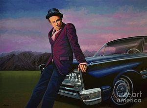 Painting - Tom Waits by Paul Meijering