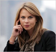 Lara Logan. South African born journalist. Chief foreign affairs correspondent for CBS News. Correspondent for 60 Minutes. Courageously spoke out following her sexual assault while covering celebrations following Hosni Mubarak's resignation.