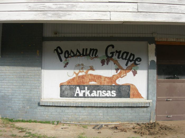 7. Town names like Possum Grape and Greasy Corner seem totally normal to you.
