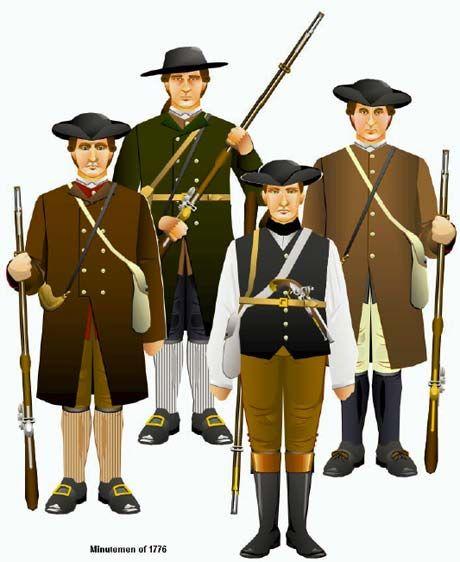 Uniforms of the American Revolution 1775-1783    http://www.britishbattles.com/tim-reese/american-revolution/uniform-cd.htm