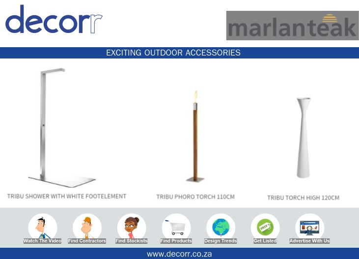 #DecorrOutdoor Exciting Outdoor Accessories @marlanteak http://www.decorr.co.za/marlanteak/ #decorrpromo