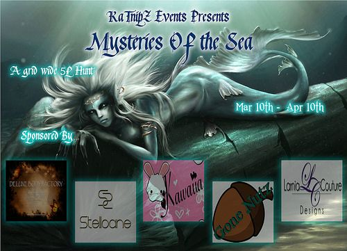 Mysteries Of The Sea Hunt by Katnipz #SecondLife
