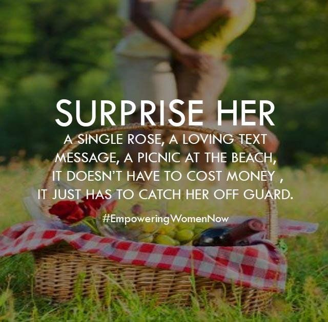 He's planned something surprising for a date soon! I wonder what it IS!?! Can't wait!