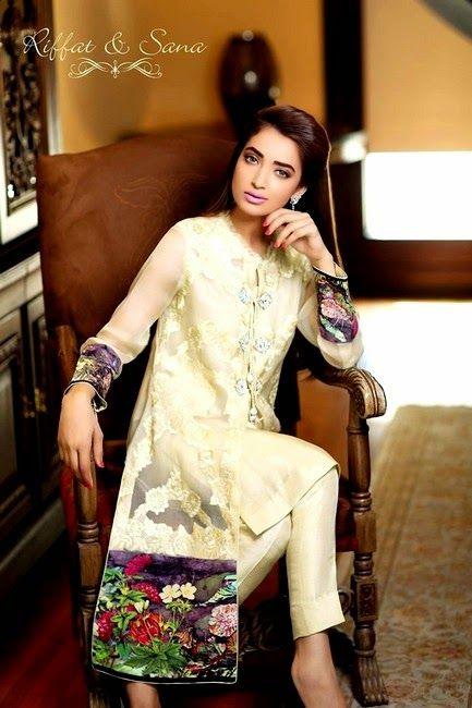 Sana Salman Midsummer Dress Collection 2014