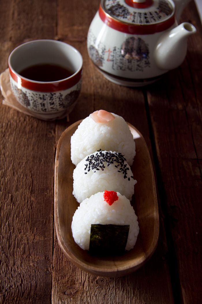 Onigiri - Japanese rice balls. #food #Asian #rice