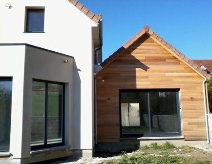 73 best Maison en ossature bois construite à Evreux images on