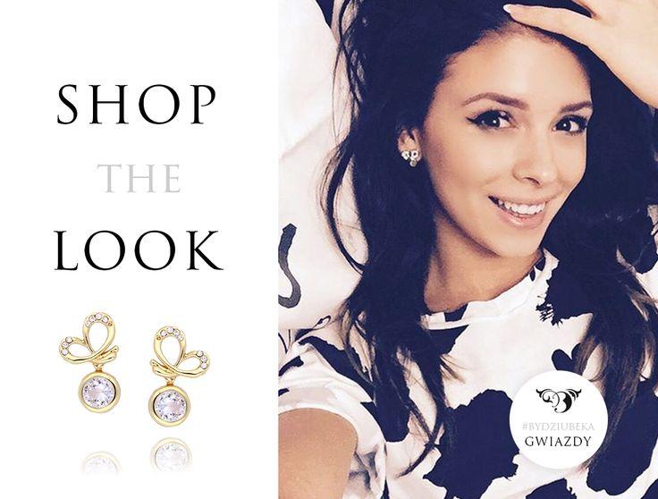 Cudowna Klaudia Halejcio w naszych kolczykach <3 <3 #bydziubeka #jewellery #jewelry #fashion #style #look #ootd #celebrity #stars