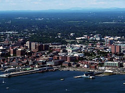 Portland is the largest city in Maine and is the county seat of Cumberland County.[1] The 2010 city population was 66,194,[2] growing 3 percent since the census of 2000. With a metro population of over 500,000, the Greater Portland area is home to more than one-third of Maine's total population
