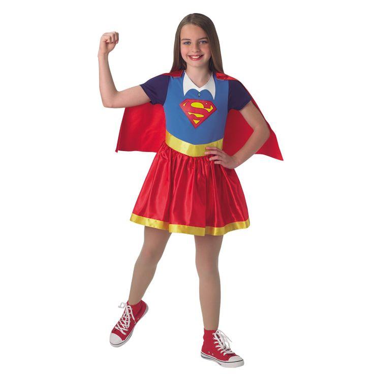 Déguisement SuperGirl DC Comics® Enfant #déguisementsenfants #costumespetitsenfants #nouveauté2016