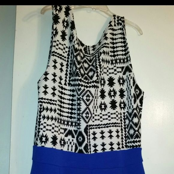 Royal Blue Aztec Jumper & Blue Wristlet Royal Blue Aztec all in one really cute. I wore it out for my 34th Birthday. Got alot of compliments with the royal blue wristlet. a'gaci Shorts Skorts