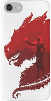 Mother of Dragons (Light) iPhone 7 Cases