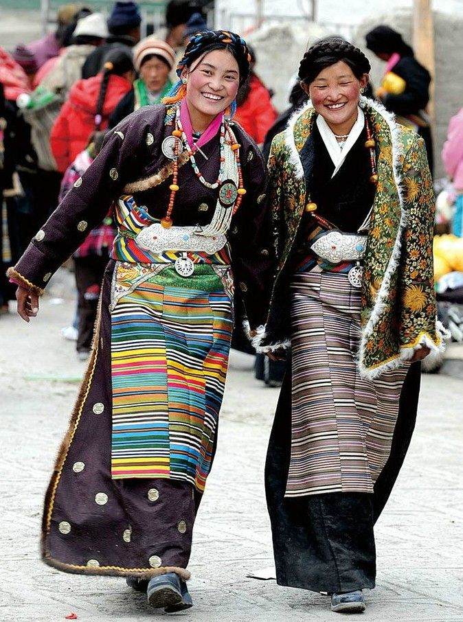 Two #smiles from Tibet