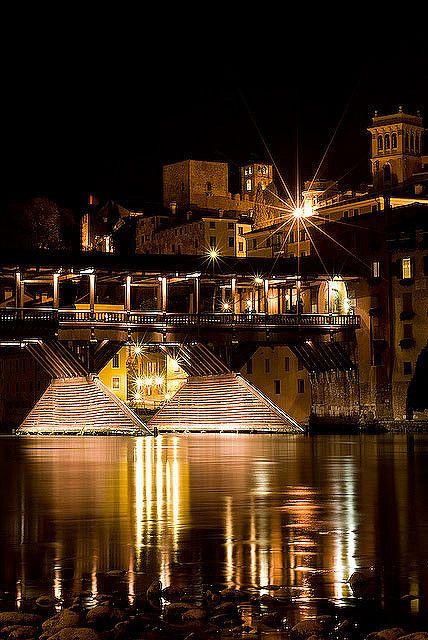 Alpini Bridge - Bassano, Veneto, Italy