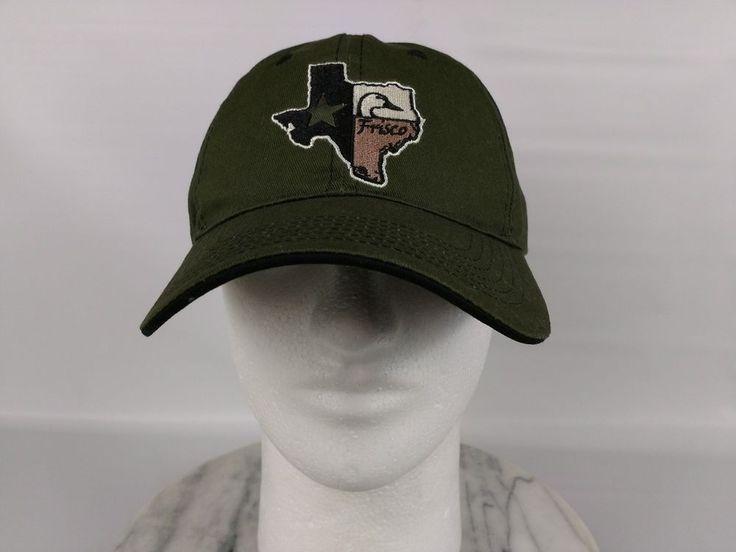 Frisco Texas Map Cap Hat Green ACIS Innovative Services Strapback Adjustable #InternationalSourcing #BaseballCap