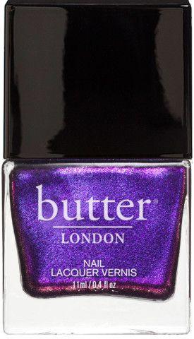 Stroppy Nail Lacquer : Bright Purple Shimmer Nail Polish