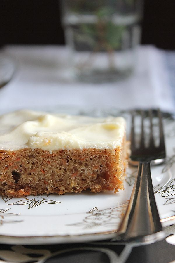 #Eggless Carrot Cake, you won't believe it got no eggs.