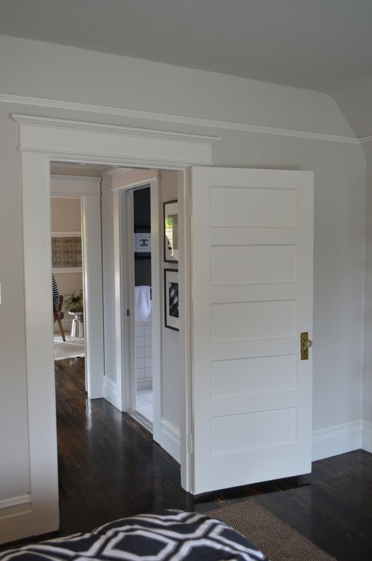C3: Also Really Like 5 Panel Doors   Better Than The 4 Panels We Had On  25th St. | Trim 2.0   Thoughts As Of 6/23/13 | Pinterest | Doors, Window  Trims And ...