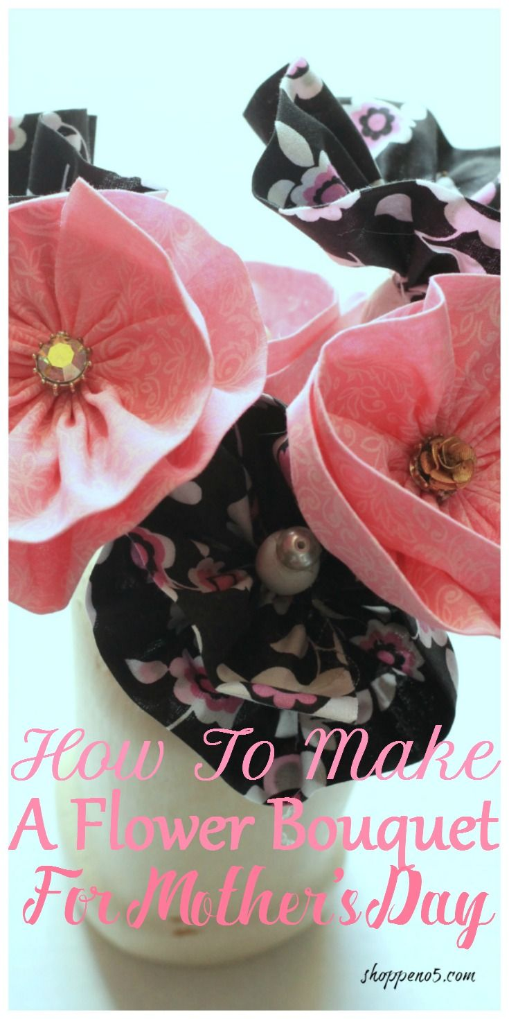 For this month's Crafty Destash challenge I decided to make plant picks.  But not just any plant picks. A bouquet of flowers.  Perfect for Mother's Day because mothers deserve flowers. I will show you how to make a flower bouquet for Mothers Day.