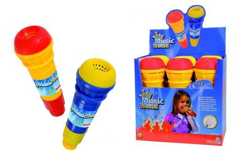 #SimbaToys #toys #kids #toddlers  #colorful #playtime #music Simba My Music World Echo Microphone, Multi Color (2 Assortment) Simba http://www.amazon.in/dp/B0058FTTYA/ref=cm_sw_r_pi_dp_sXvDwb1HNMSC5