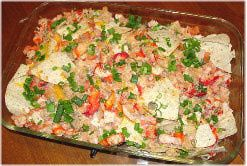 Lobster Nachos Recipe - A Recipe for Nachos with Lobster and Shrimp - Inspired by Red Lobster - From Kim's New England Kitchen