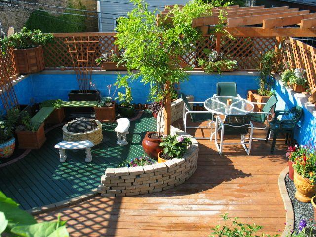 Rooftop Patio   4 Seasons Painting U0026 Landscaping