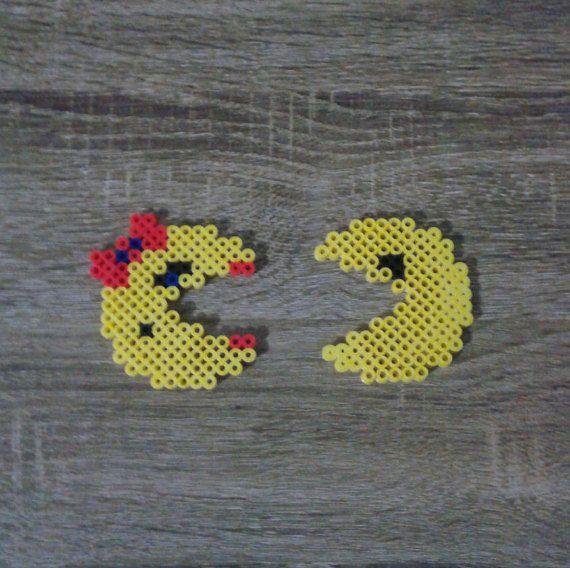Pac-Man Perler Beads par GeekyMania sur Etsy
