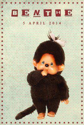 Geboortekaartje retro meisje of jongen - monchichi - Pimpelpluis  https://www.facebook.com/pages/Pimpelpluis/188675421305550?ref=hl