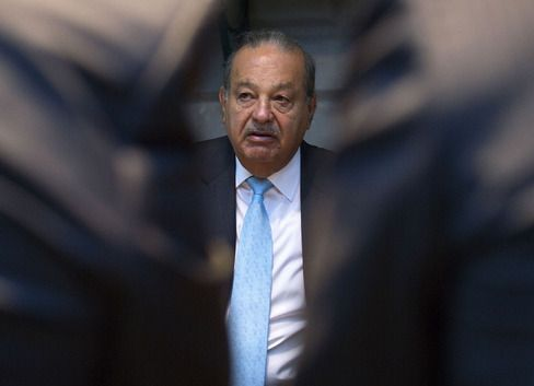 The World's Richest People Lose $41 Billion on Trump's Win - Bloomberg Billionaire Carlos Slim