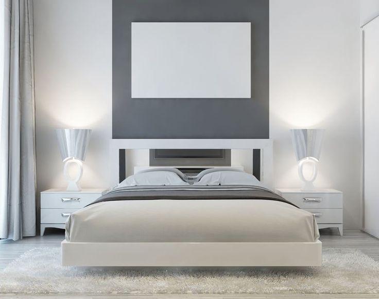 przytulna sypialnia z dywanem