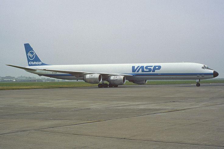VASP DC-8-71F; PP-SOP, September 1991 Photo by Aero Icarus