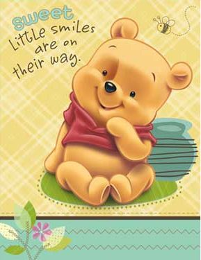 Perfect Winnie The Pooh Baby Shower Invitations....so Cute Goin With