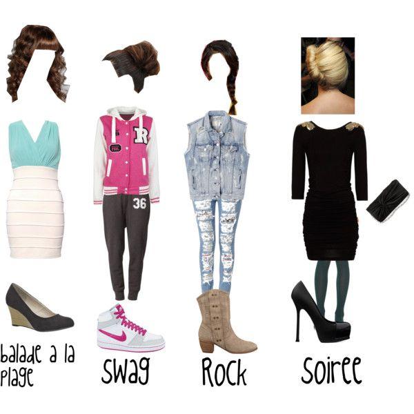Fille De L'adolescence Modelant Des Vtements De Mode Dans