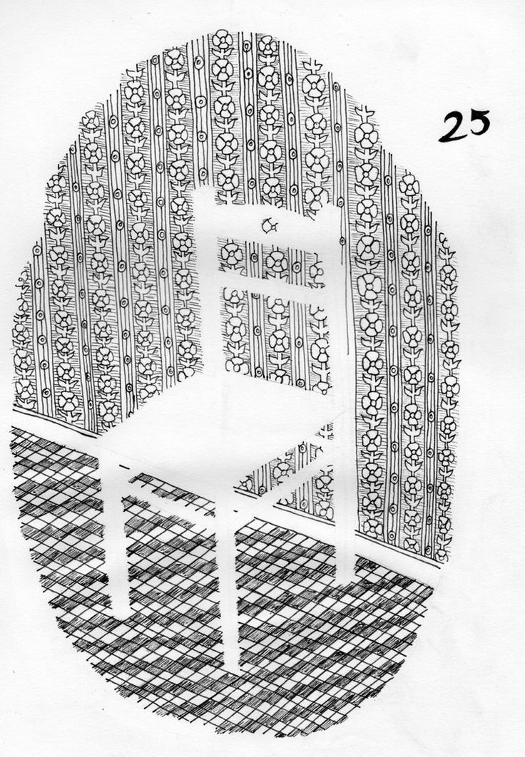 25 - Undrawn Chair by Dz-Drawing