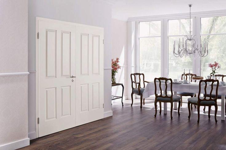 Damit die Türen dauerhaft gepflegt und intakt bleiben, sollte man beim Kauf auf gewisse Merkmale achten und sich vom Fachmann beraten lassen. #Innentüren #Türen - in Kooperation mit Hörmann // Mehr auf livvi.de