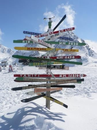 Why would you want to be in Tahiti when you have sun with snow like this?  Ski Austria - Fly to Innsbruck