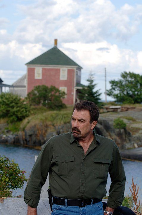 Tom Selleck is Jesse Stone. One man that still looks good at his age!