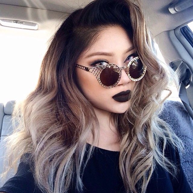 Light Ash Brown Hair Asian
