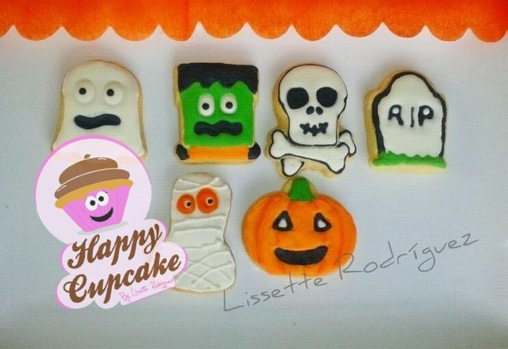 Halloween cookies !!