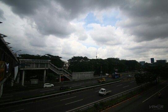 Jakarta today #weather #landscape #iseng #ibukota #jakarta #dki
