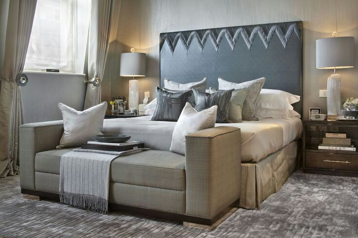 Sofa at the end of the bed beautiful homes pinterest for End of bed sofa