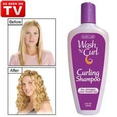 Wash & Curl Curling Shampoo