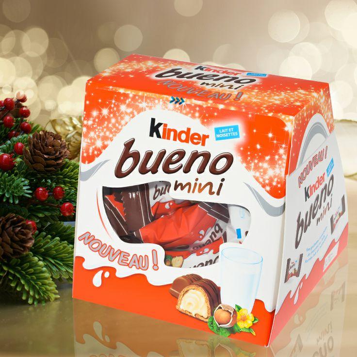 kinder Bueno mini - nouveauté Kinder Noël 2013     #christmas #xmas #chocolate #food