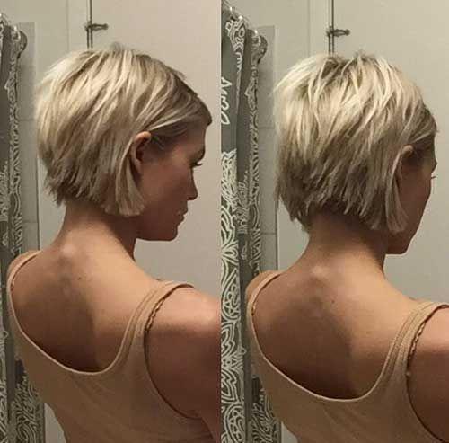 30 New Blonde Short Hairs…