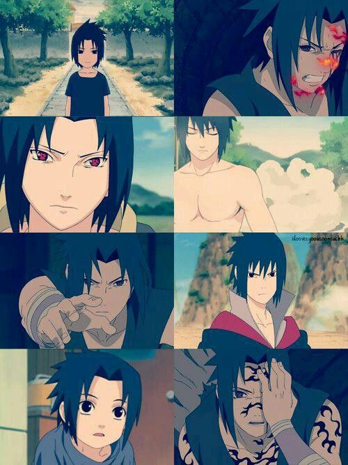 Sasuke, you are my favourite....why did you have to be such an asshat?!