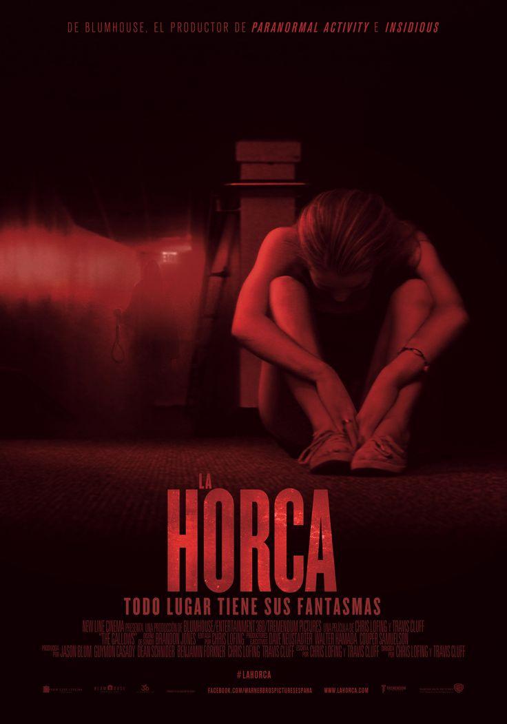 Póster oficial de #LaHorca, la terrorífica película que llega a cines hoy. ¿Te lo vas a perder?