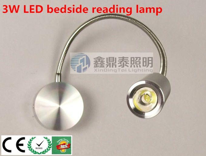 Светодиодный светильник стены 10 шт./лот 3 Вт СВЕТОДИОДНЫЙ Настенный светильник с выключателем  зеркало окрашенные лампы  прикроватные лампы для чтения оптовая