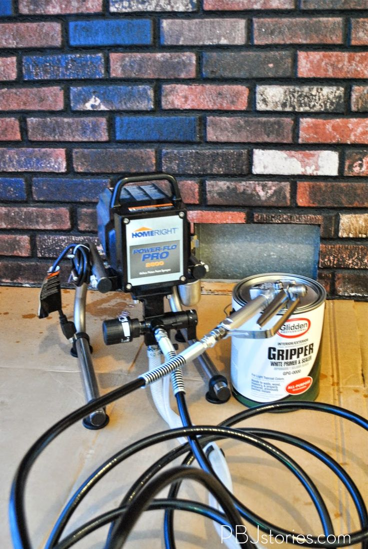 interior brick walls airless paint sprayers how to paint bricks