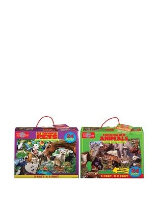 27% OFF T.S. Shure Favorite Pets & Endangered Animals Floor Puzzle Set