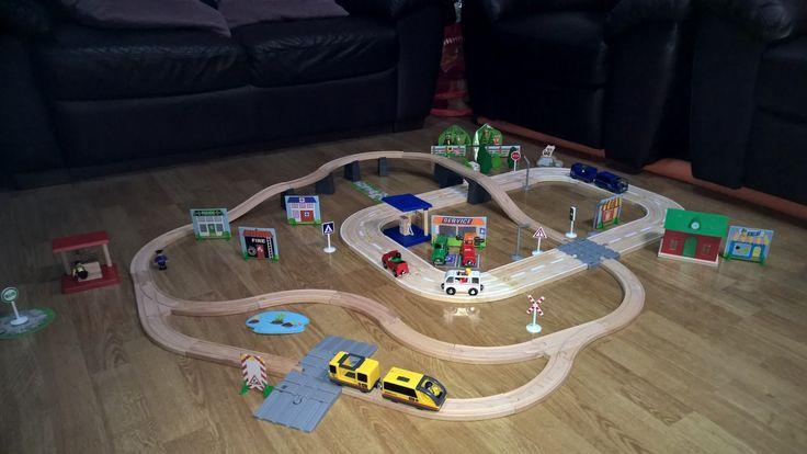 Tren y Autopista de PlayTyve Junior de Lidl.  #unboxing  #Lidl