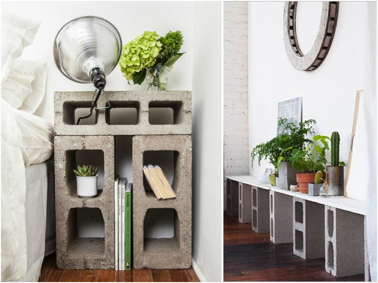 Diy: Cinder Block Furniture